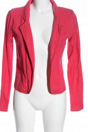 Colours of the World Sweatblazer roze casual uitstraling