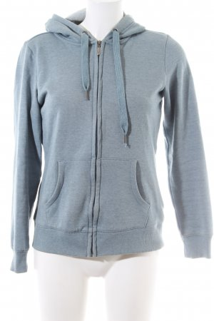 Colours of the World Sweat Jacket blue flecked casual look