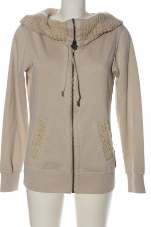 Colours of the World Sweatjacke wollweiß Casual-Look