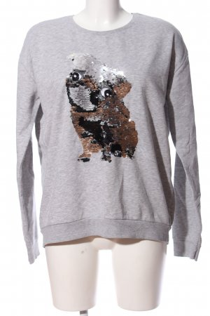Colours of the World Sweatshirt hellgrau meliert Casual-Look