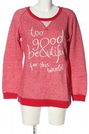 Colours of the World Bluza dresowa czerwony Melanżowy W stylu casual