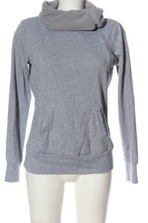 Colours of the World Sweatshirt hellgrau-blau meliert Casual-Look