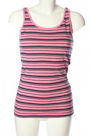 Colours of the World Tanktop pink-schwarz Allover-Druck Casual-Look