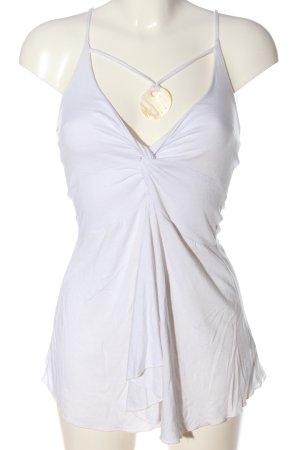 Colours of the World Débardeur à bretelles blanc style décontracté