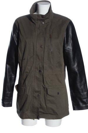 Colours of the World Between-Seasons Jacket khaki-black casual look