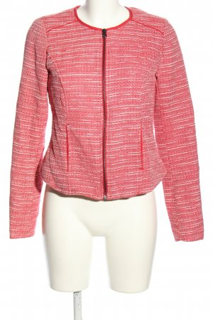 Colours of the World Übergangsjacke rot-weiß meliert Casual-Look
