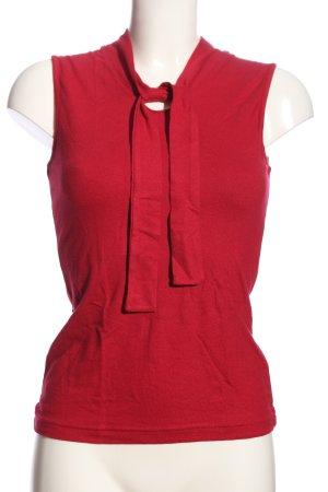 ColourVille V-Ausschnitt-Shirt rot Casual-Look