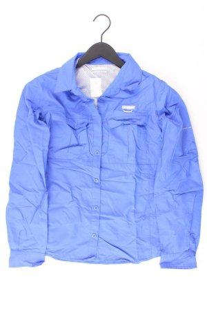 Columbia Camicetta a blusa blu-blu neon-blu scuro-azzurro Nylon