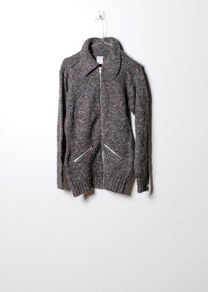Columbia Maglione lavorato a maglia grigio Cotone