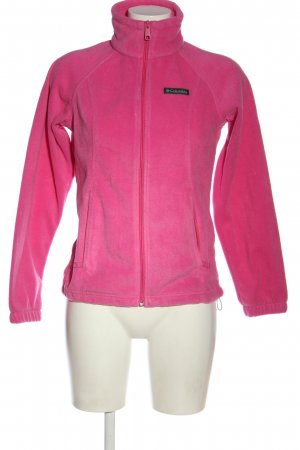 Columbia Giacca in pile rosa stile casual