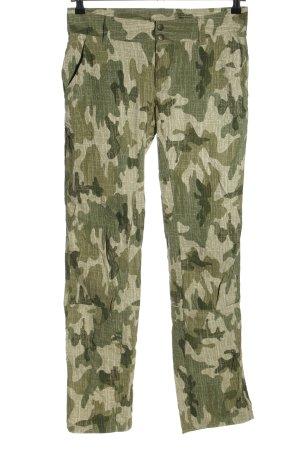 Columbia Pantalone a vita bassa cachi Motivo mimetico stile casual