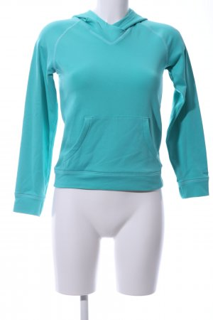 Columbia Hooded Sweater turquoise casual look