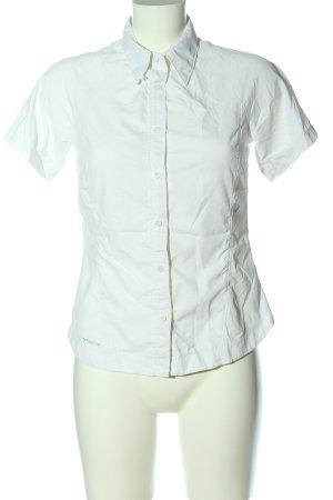 Columbia Camicia a maniche corte bianco stile casual