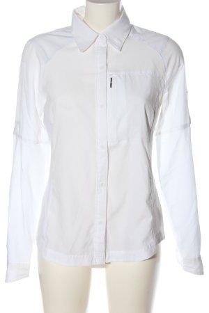 Columbia Camicia a maniche lunghe bianco stile professionale