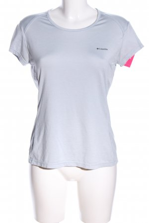 Columbia T-Shirt light grey printed lettering casual look