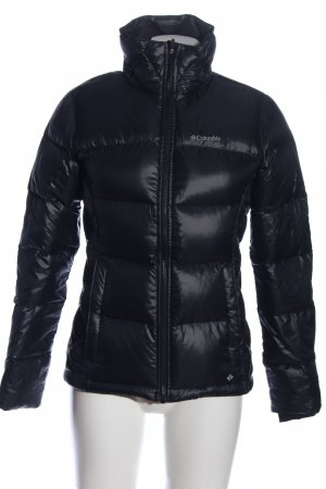 Columbia Winterjacke schwarz Steppmuster Casual-Look