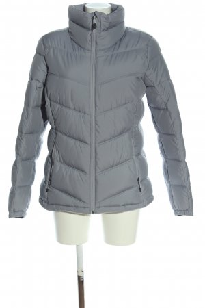 Columbia Winterjacke hellgrau Steppmuster Casual-Look