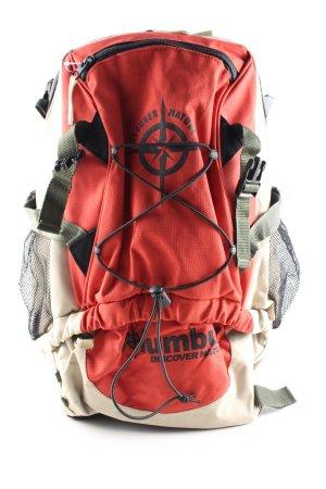 Trekking-Rucksack mehrfarbig sportlicher Stil