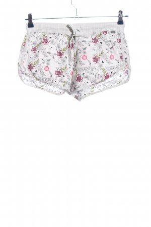 comazo Hot Pants Allover-Druck Casual-Look