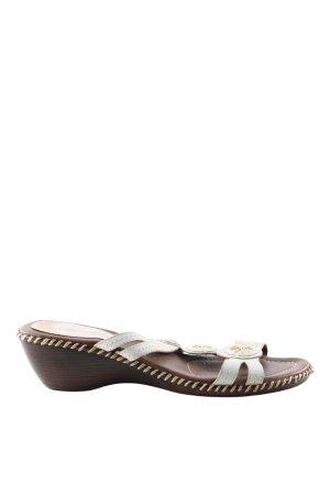 COMFINO Wedges Sandaletten weiß Casual-Look