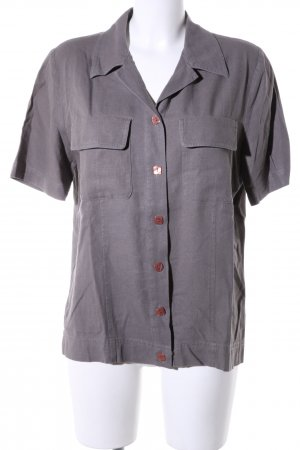 Short Sleeve Shirt brown business style