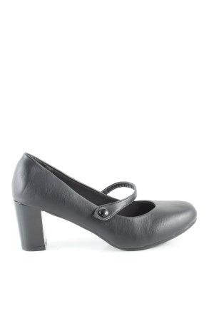Comfort Plus Escarpins Mary Jane noir style d'affaires