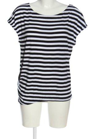 Comfy Copenhagen Stripe Shirt black-white striped pattern casual look