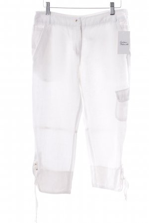 Comma 7/8 Length Trousers white
