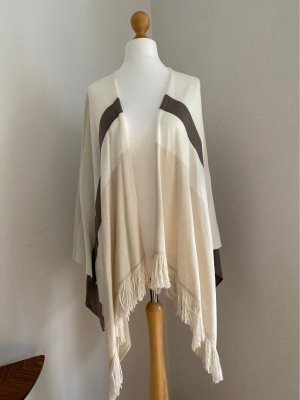 Comma Shoulder Scarf beige-cream