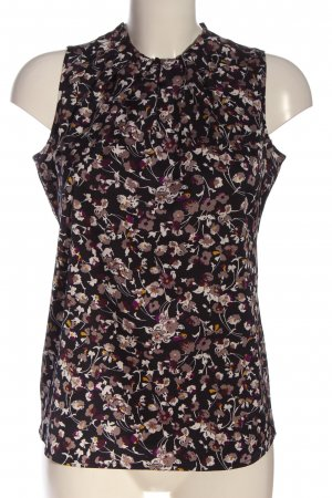 Comma Sleeveless Blouse allover print business style
