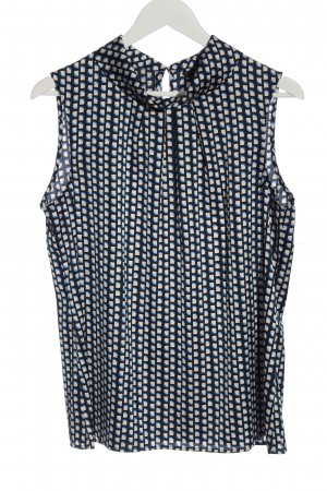 Comma Sleeveless Blouse allover print casual look