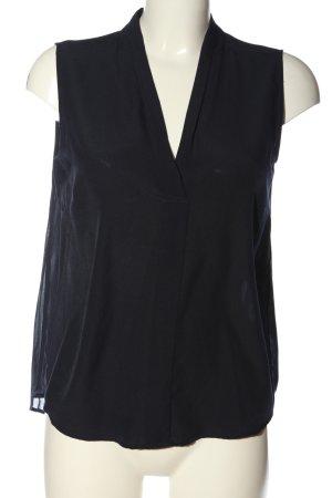 Comma Sleeveless Blouse black casual look