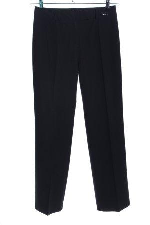 Comma Pantalon de costume noir style d'affaires