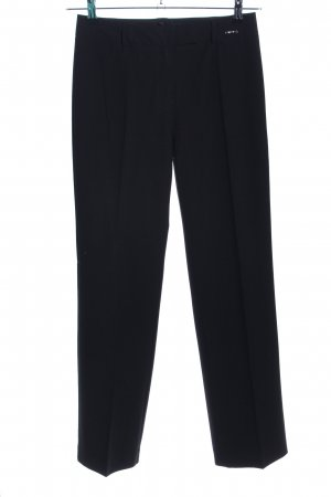 Comma Pantalón de vestir negro estilo «business»