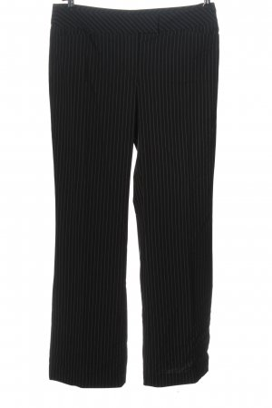 Comma Suit Trouser black striped pattern business style