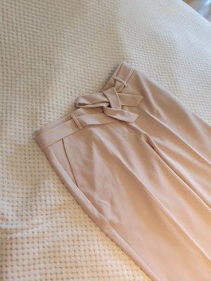 Comma Pantalone da abito color carne-rosa pallido