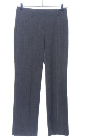 Comma Pantalon de costume gris clair-bleu Motif de tissage style d'affaires