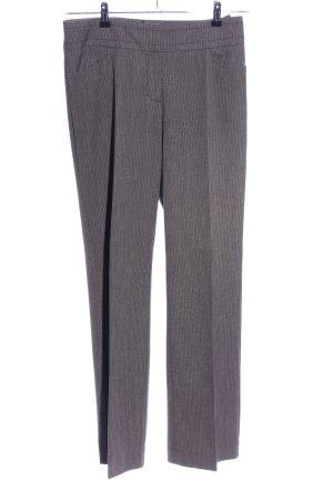 Comma Pantalon de costume gris clair-brun moucheté style d'affaires