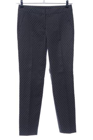 Comma Pantalon de costume noir motif graphique style d'affaires