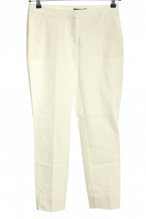 Comma Spodnie garniturowe kremowy W stylu biznesowym