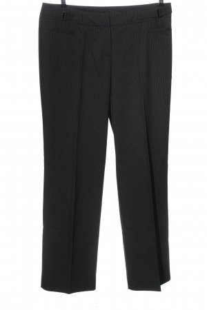 Comma Suit Trouser black striped pattern casual look