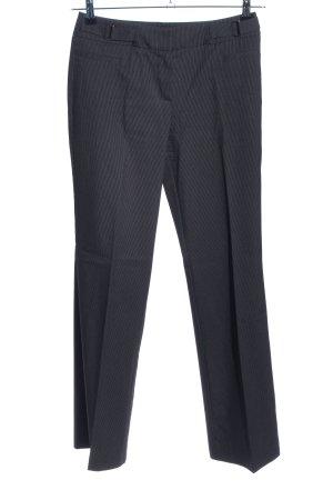 Comma Pantalón de vestir negro moteado estilo «business»