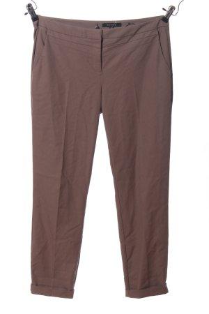 Comma Pantalone da abito marrone stile professionale