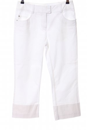 Comma Baggy Pants white casual look