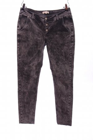 Comma Baggy jeans lichtgrijs casual uitstraling