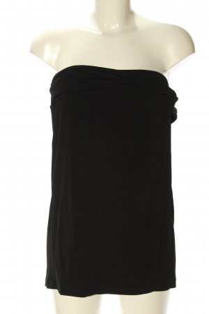 Comma Haut bandeau noir style décontracté