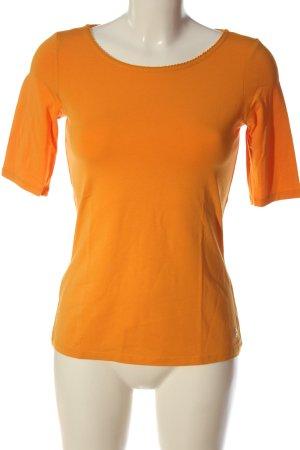 Comma Basic-Shirt hellorange Casual-Look