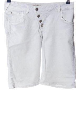 Comma Bermuda bianco stile casual