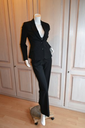 Comma Blazer Anzug Hose schwarz 34 Business Hose neu, Blazer gebraucht