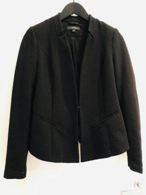 Comma Blazer de esmoquin negro